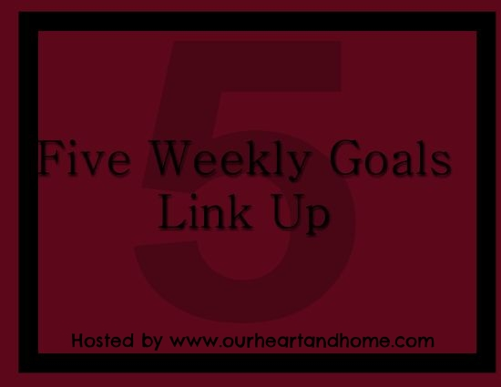5 goals weekly link up