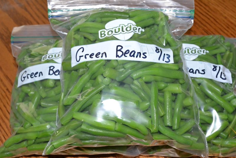 How To Freeze Green Beans Our Heart And Homeour Heart And Home